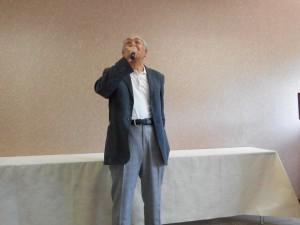 昨年に引き続き優勝者の由雄さん