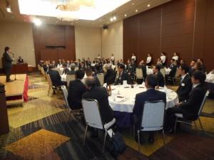 懇親会での小倉副会長の挨拶