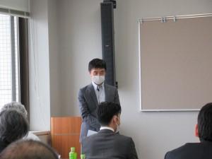 島田経営委員長の挨拶