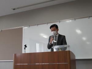 講師の「佐々木辰実」氏